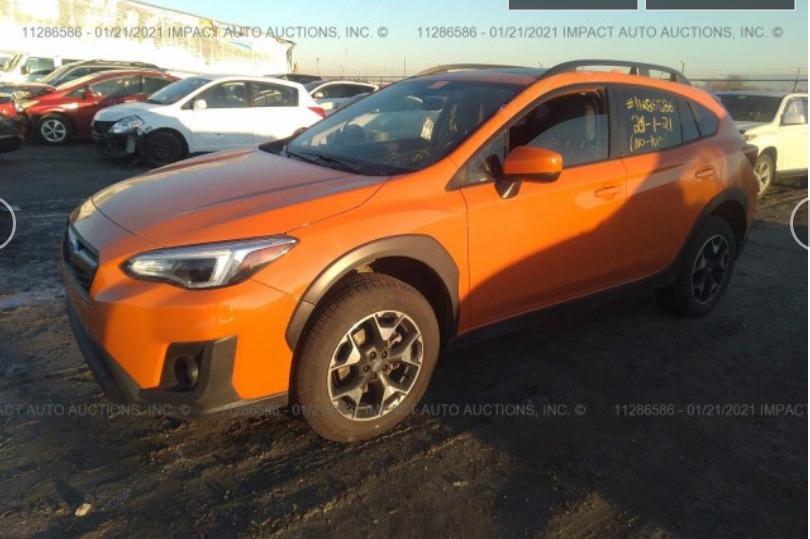 Внос на Subaru Crosstrek Premium от Канада