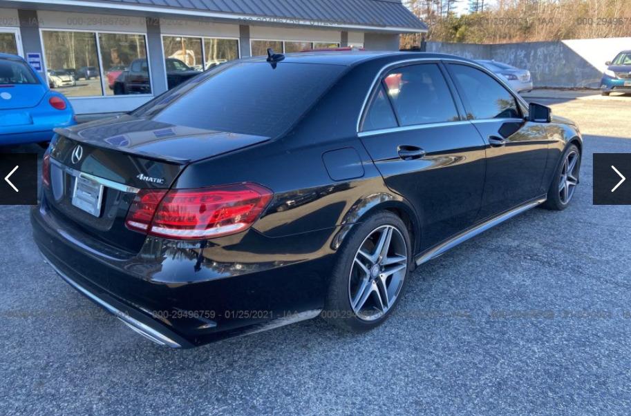 Внос на Mercedes-Benz E-class от САЩ