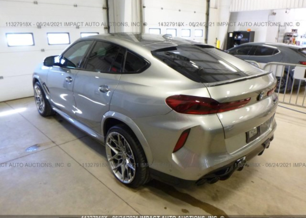 Внос на BMW X6 M/M COMPETITION
