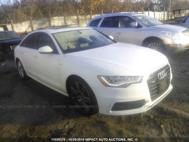 Внос на Audi A6 от Канада