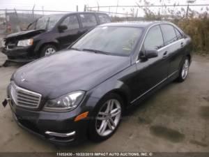 Внос на Mercedes C300 от Канада