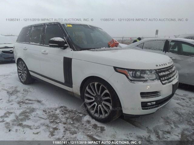 Внос на Range Rover от Канада