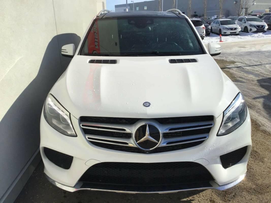 Внос на Mercedes Benz GLE от Канада