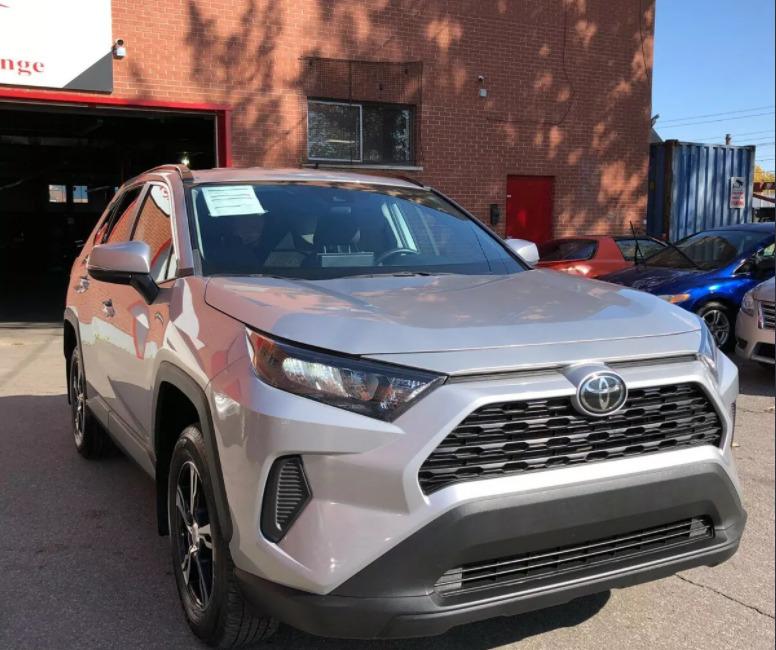 Внос на Toyota RAV 4 от Канада
