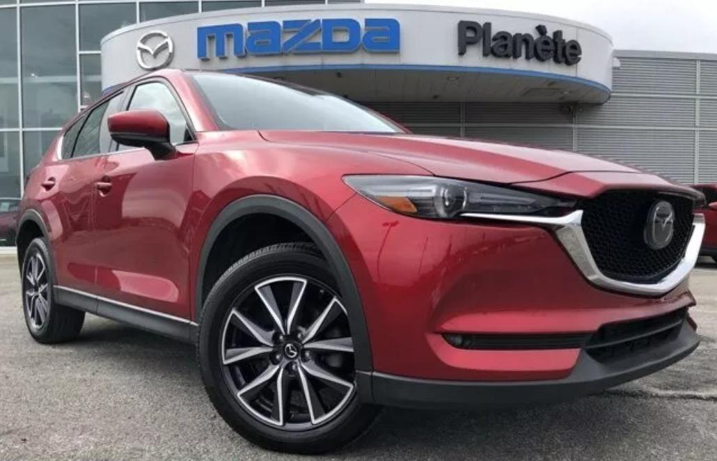 Внос на Mazda CX-5 от Канада