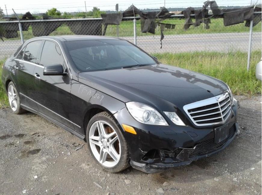 Внос на Mercedes E-class от Канада