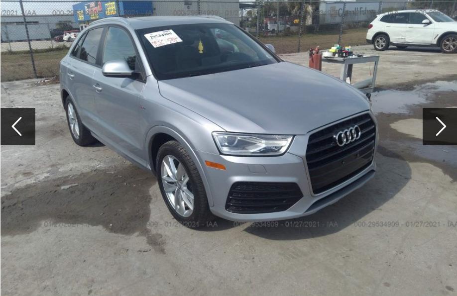 Внос на Audi Q3 от САЩ