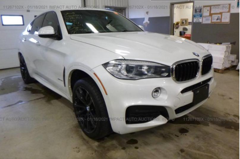 Внос на BMW X6 от Канада